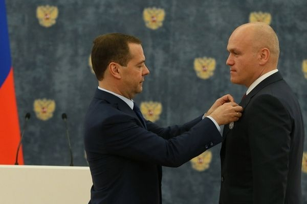 RCF President Andrey Filatov Receives State Decoration