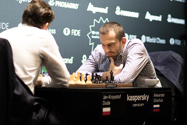 Александр Грищук - победитель этапа Гран-при ФИДЕ в Гамбурге