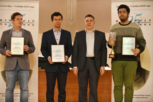 Гроссмейстер Идани Пууя стал победителем Мемориала Чигорина в Санкт-Петербурге