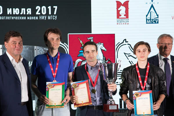 Moscow Blitz Cup Took Place in Moscow State University of Civil Engineering