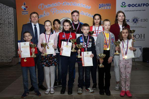В Лоо завершились Детские первенства России по рапиду
