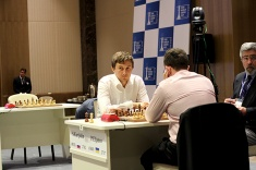 Sergey Karjkain Joins Peter Svidler in the World Cup Final