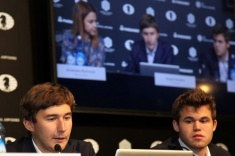 Game 11 of Carlsen-Karjakin Match Ends in a Draw