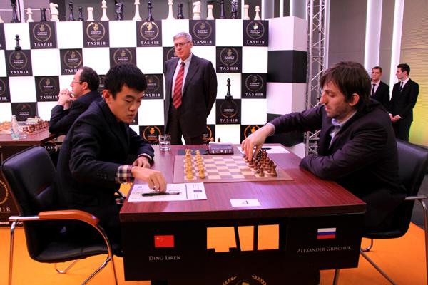 Александр Грищук удерживает лидерство на Международном турнире TASHIR памяти Тиграна Петросяна