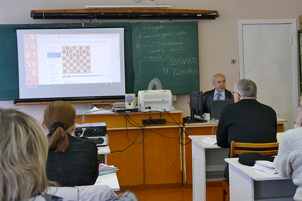 Александр Костьев провел семинар шахматного всеобуча в Удмуртии