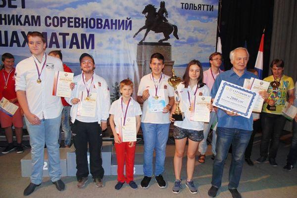 Подмосковные юниоры победили в командном первенстве России по классическим шахматам