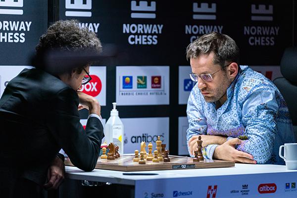 Левон Аронян возглавил гонку на Altibox Norway Chess