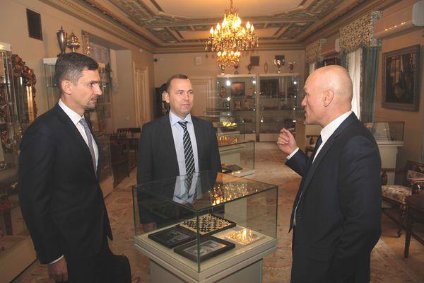 Губернатор Курганской области Вадим Шумков посетил ЦДШ