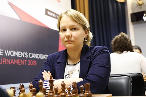 Александра Горячкина досрочно выиграла турнир претенденток