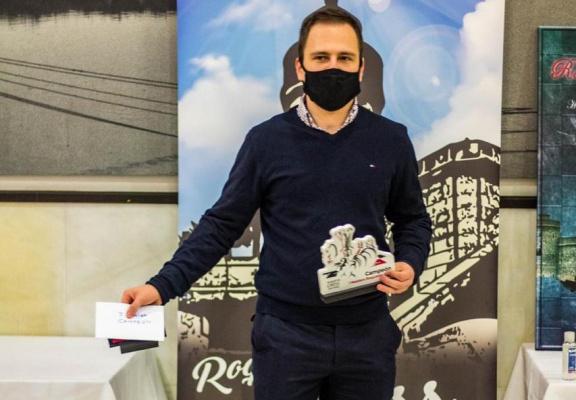 Даниил Юффа стал победителем турнира Roquetas Masters