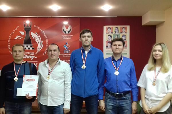 В Ижевске прошел командный чемпионат Удмуртии по блицу