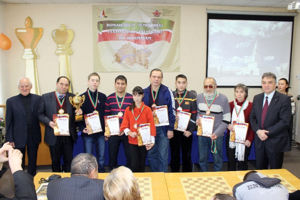 Победители турнира – сборная г. Набережные Челны