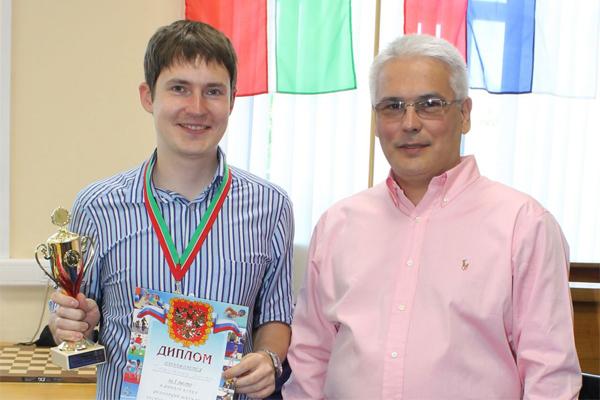 Артем Тимофеев выиграл Кубок Федерации шахмат Республики Татарстан по рапиду