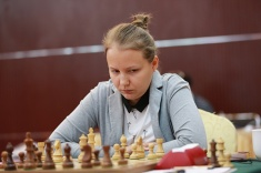 Penultimate Round of China-Russia Match Played in Qinhuangdao