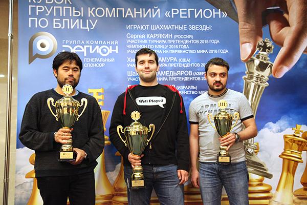 Ян Непомнящий стал победителем Кубка Группы компаний «РЕГИОН» по блицу