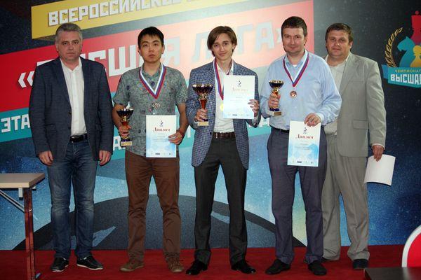 Даниил Дубов стал победителем Высшей лиги чемпионата России среди мужчин