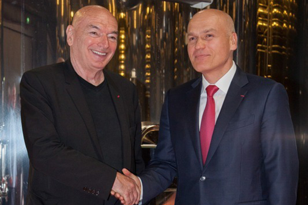 Jean Nouvel and Andrey Filatov