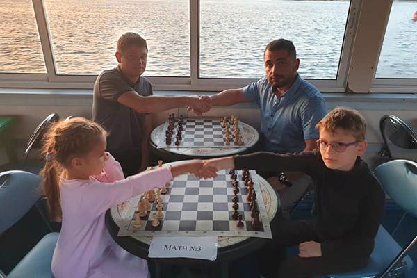 В Нижнем Новгороде состоялся необычный семейный турнир