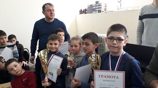 Во Владикавказе прошли три шахматных турнира