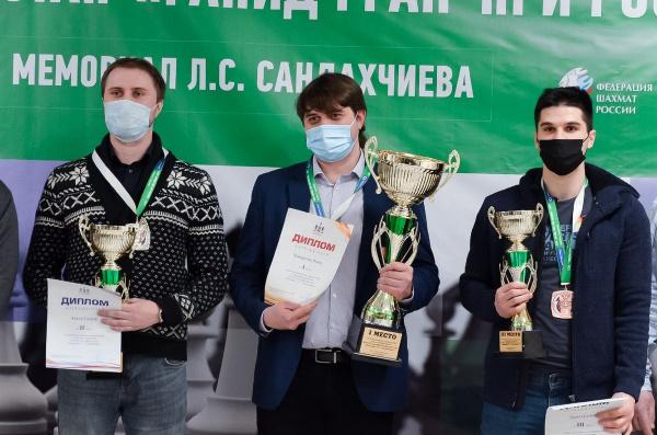 Павел Понкратов стал победителем Мемориала Л.С. Сандахчиева
