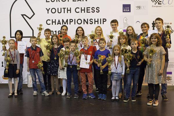 Россияне взяли шестнадцать медалей на детском первенстве Европы