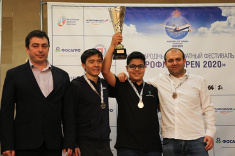 Aydin Suleymanli Wins Main Tournament of Aeroflot Open 2020