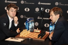 Classical Part of the World Championship Match Ends in a Draw