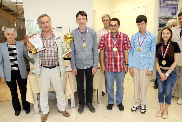 Команда Гостиной Дворковича - победитель Кубка Дворковича 2015 года