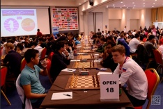 Five Rounds are Played at the World Junior Championship