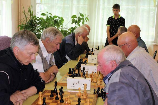 В Приволжске прошел турнир пенсионеров
