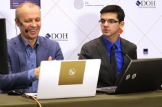 Giri and Anand Win in the Round 2 of Tal Memorial