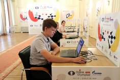 Team Russia Defeats Hungary to Advance to Semifinal of FIDE Online Olympiad