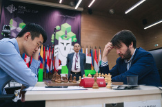 FIDE World Cup Final Starts Peacefully