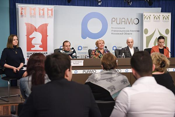 В РИАМО состоялась пресс-конференция перед началом Открытого турнира среди пенсионеров Москвы