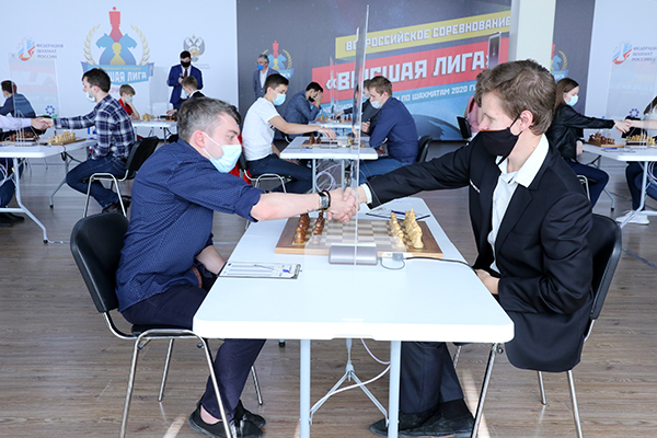 В Сочи сыгран первый тур Высшей лиги чемпионатов России