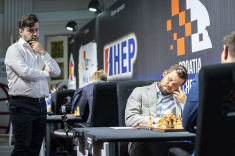 Ian Nepomniachtchi Maintains Leadership in Croatia Grand Chess Tour