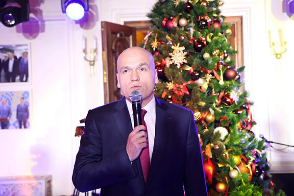 Андрей Филатов поздравляет шахматистов с наступающим Новым годом