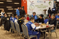 Russian Team Pursues Leaders at World Youth U16 Olympiad