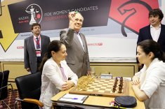 First Round of FIDE Women's Candidates Tournament Played in Kazan