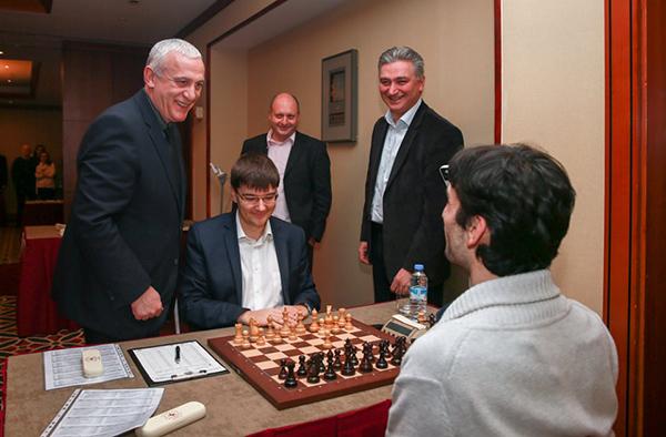 Александр Грищук и Евгений Томашевский побеждают в Тбилиси