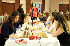 Four Rounds of European Women's Championship Played in Antalya