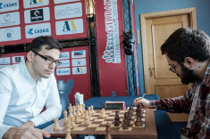 Esipenko, Wang Hao, Maghsoodloo, and Paravyan Lead the Race in Gibraltar