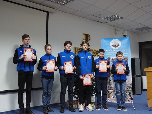 В Шахматном клубе имени Б. Спасского подвели итоги года