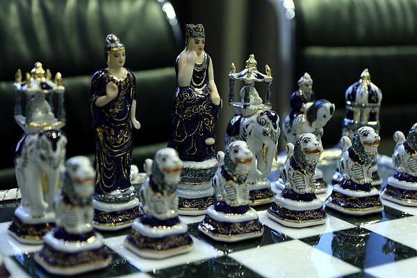Коллекция Музея шахмат ФШР пополнилась «Индийскими» шахматами