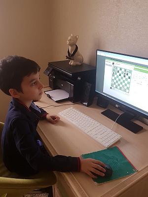 Состоялся заключительный этап детского онлайн-Кубка Дагестана по рапиду