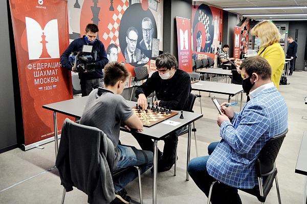 Никита Афанасьев и Дарья Войт - чемпионы Москвы по блицу