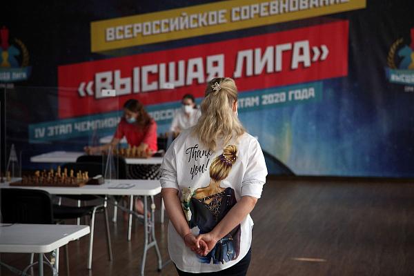 Валентина Гунина досрочно выиграла Высшую лигу в Сочи