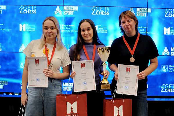 Дарья Войт выиграла чемпионат Москвы по рапиду