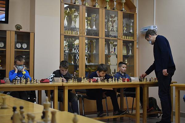 В Пушкине отпраздновали 30-летие шахматного клуба имени А. Алехина