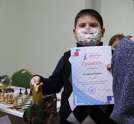 В Тульской шахматной гостиной завершилась серия Новогодних турниров